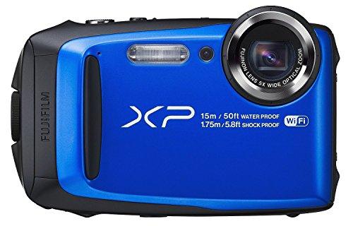 Fujifilm FinePix XP90 Blue Waterproof digital camera (Blue) (Certified Refurbished) by Fujifilm