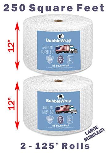 Official Sealed Air Bubble Wrap - American Bubble Boy (250