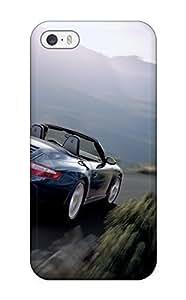 Tpu Case Cover For Iphone 5/5s Strong Protect Case - Porsche 911 Carerra 4 Design
