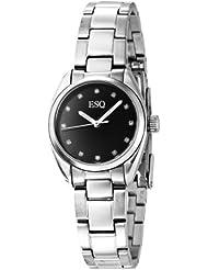 ESQ Movado Womens 7101355 Sport Classic Stainless Steel Diamond Watch