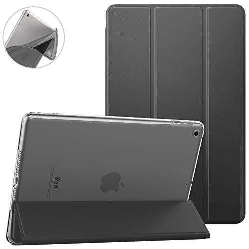 Dadanism Smart Case for iPad 9.7 2018/2017, Lightweight Protective Shell Cover Case with Auto Sleep/Wake, Flexible TPU Back Case and Micro-Fiber Lining Fit Apple iPad 9.7