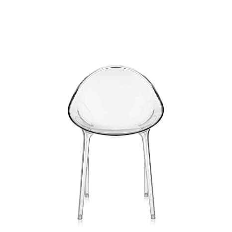 Kartell, Mr. Impossible, Sedia, Trasparente, 55 x 84 x 54 cm