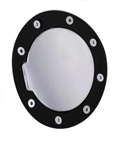 - All Sales 6055KC Black Ring with Chrome Billet Aluminum Fuel Door