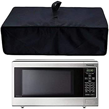 Orchidtent Heavy Duty Heat-Resistant Waterproof Dustproof Microwave Oven Grill Cover Protector Hood Rain Dust Ultraviolet Ray Protective(Microwave Oven)