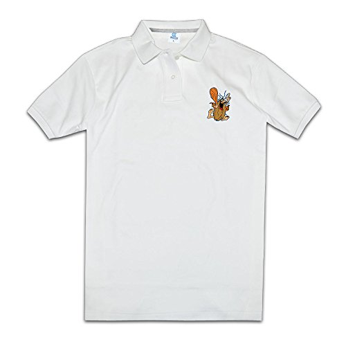 Captain Caveman And The Teen Angels Anti-Odor Men Printing Commemorative Edition Polo T Shirt