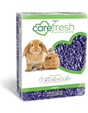 Carefresh 99% Dust-Free Playful Purple Natural Paper Small Pet Bedding with Odor Control, 50 L