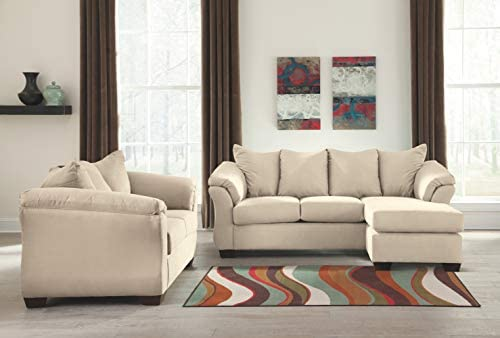 home, kitchen, furniture, living room furniture,  sofas, couches 4 on sale Signature Design by Ashley -  Darcy Microfiber Sofa with deals