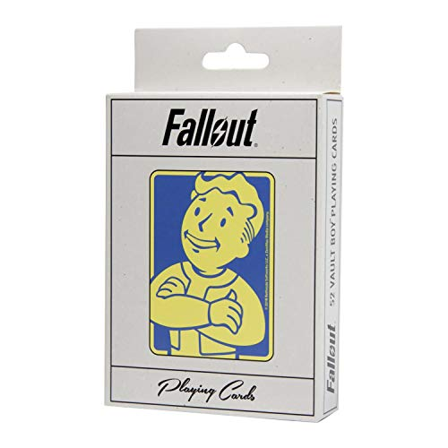 (Fallout Playing Cards Deck - Depicting Your Favorite Vault Boy Perks from The Video Game - Full 52 Card)