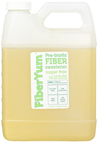 Price comparison product image Fiber Yum Non-GMO,  Corn-Free,  Pre-Biotic Fiber IMO Syrup Sweetener - 2.5 Pound