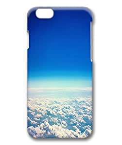 Clouds Protective Hard PC Snap On 3D Case for iphone 6 Plus 5.5-1122002