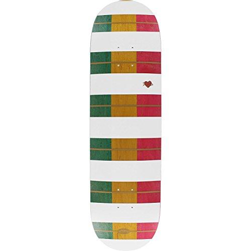 仮称熱狂的な幅Real Wair Triple Slicksスケートボードデッキ-8.38デッキのみ(ハードウェアフリー1