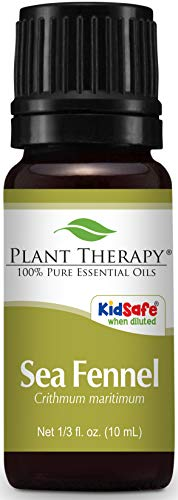 Plant Therapy Sea Fennel Essential Oil 10 mL (1/3 oz) 100% Pure, Undiluted, Therapeutic Grade
