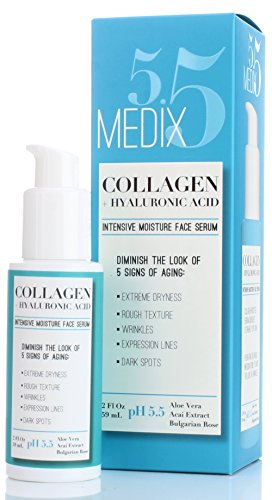 Medix 5.5 Collagen Serum for Wrinkles, Dark Spots Fine Lines