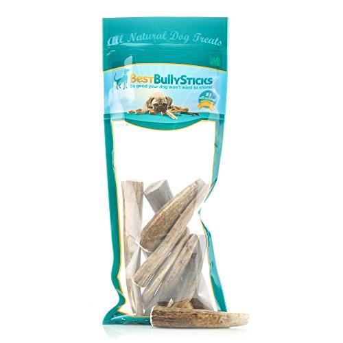 Best Bully Sticks USA Natural Elk Antler Dog Chews by (1 Pound) For Sale