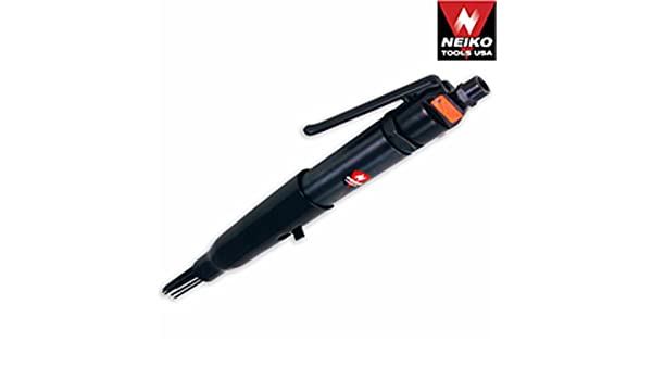 Automotive Shop Air Needle Scaler Tool Removes Scaling Rust Weld Flux Paint