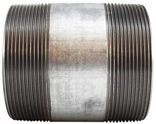 4 OD 5 Length SCH 40 Welded Steel 4 Diameter 5 Length 4 OD Midland Metal 4 Diameter Midland 56-225 Galvanized Steel Nipple