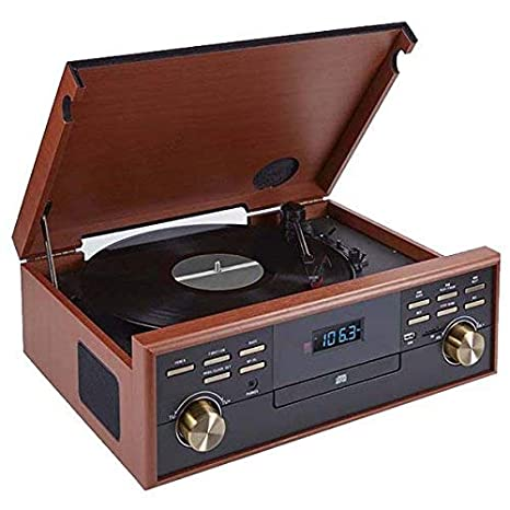 BigBen TD113 - Tocadiscos (Radio, CD, USB, Casetas, MP3 ...