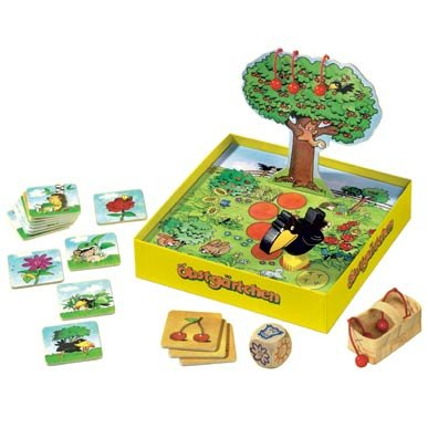 HABA Little Orchard - A Cooperative Memory Game for Ages 3 and Up (Made in Germany) (In Garden My Crows)