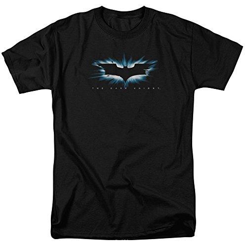 Trevco The Dark Knight High Impact Burst Logo Unisex Adult T Shirt For Men and Women
