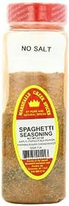 Marshalls Creek Spices Spaghetti Seasoning, No Salt, 12 Ounce