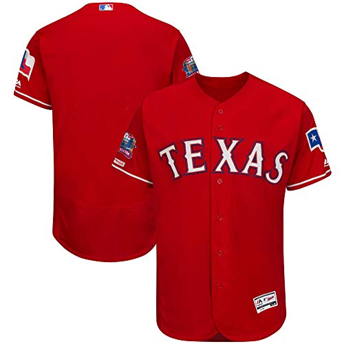 Men/Women/Youth Texas_Rangers_red Buttoned Baseball_Home_Jersey