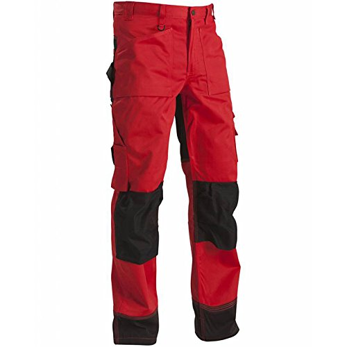 152318605699C154 Trousers Size 38/34 (Metric Size C154) IN Red/Black