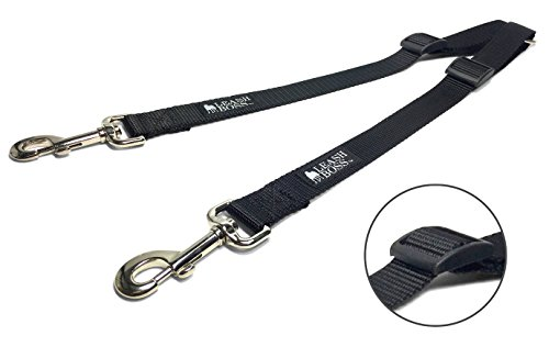 Leashboss Double Leash Coupler for Large Dogs - Choose Regular 11-20