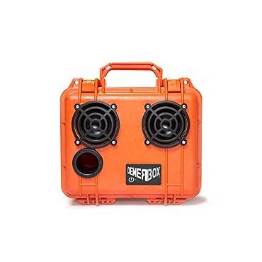 DemerBox Portable Bluetooth Speaker, Haast Orange, 2 Speaker Model