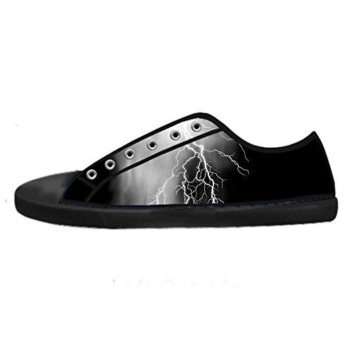 Eclairage Personnalisé Femmes Toile Chaussures Les Lacets Chaussures Baskets Montantes