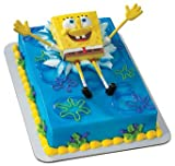 SpongeBob Bendy Cake Topper Set