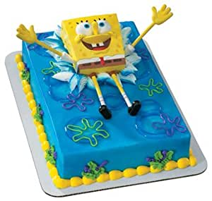 Amazon.com: SpongeBob Bendy Cake Topper Set: Everything Else