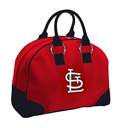 Charm14 MLB St. Louis Cardinals Travel-Overnighter with Embroidered Logo