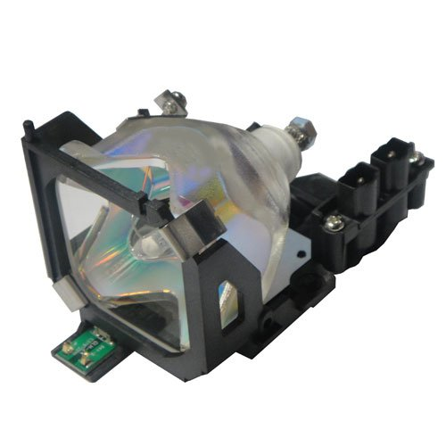 505 Lamp Projector (OEM Epson Projector Lamp for Model EMP-505 Original Bulb and Generic Housing)