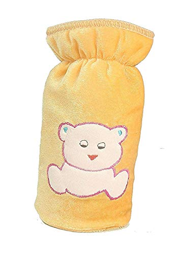 ADRIEL Bringing Joy® Newborn Baby Feeding Bottle Cover with Soft & Attractive Cartoon Patch Bottle Cover – Pack of 2 (Big Size 240 ML)