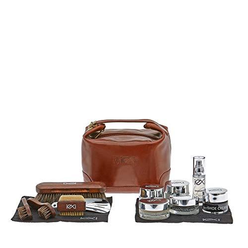 IEXI Kit Exclusive Sac de voyage ou cadeau - Ensemble de 13 pièces pour les soins - Nettoyage et entretien des… 1