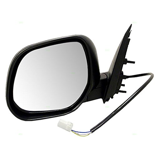 Drivers Power Side View Mirror Ready-to-Paint Replacement for Mitsubishi SUV 7632A063 AutoAndArt