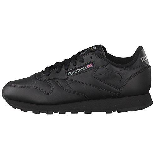 Reebok Classic Leather Zapatillas, Mujer negro