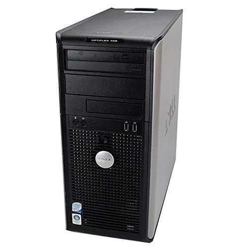 Dell Optiplex 755 Tower, C2D 2.93GHz, 8GB, 250GB, WiFi, Windows 7 Professional (Renewed)