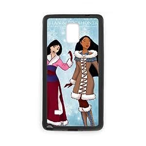 Pocahontas Samsung Galaxy Note 4 Cell Phone Case Black Xkytl