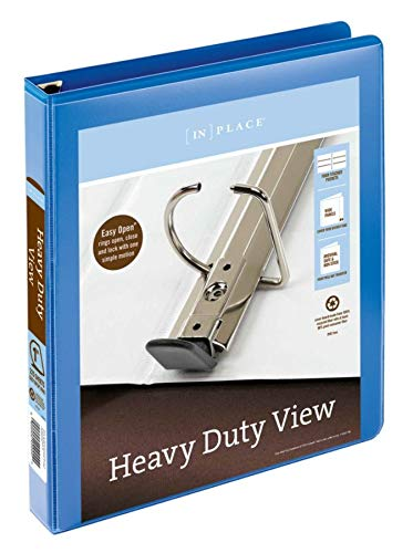 Office Depot Brand Heavy-Duty Easy Open D-Ring View Binder, 1