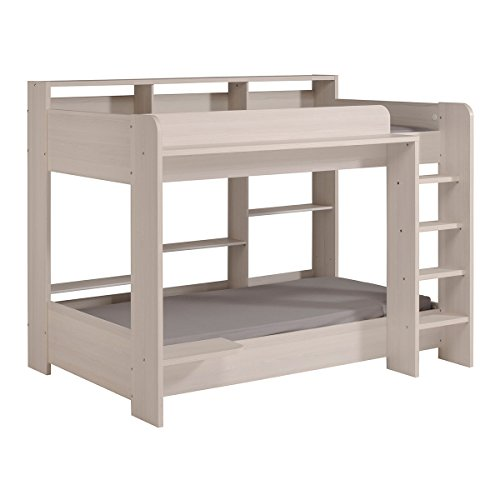 Parisot 2410LISU Contemporary Higher Bunk Bed, Twin by Parisot