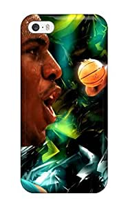 New Shockproof Protection Case Cover For Iphone 5/5s/ Chris Paul Case Cover(3D PC Soft Case)