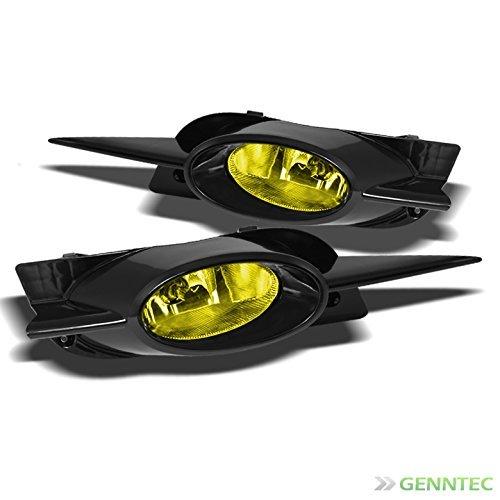 Jdm Wiring - 2009-2011 Honda Civic 2 Door Yellow JDM Fog Lights Lamp+Switch+Bulbs Wiring 2010 Pair Left+Right