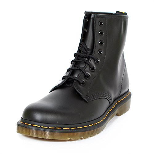 Dr. Martens 1460 Originals 8 Eye Lace Up Boot, Black Smooth Leather, 6UK / 7 US Mens / 8 US Womens, 39 EU -