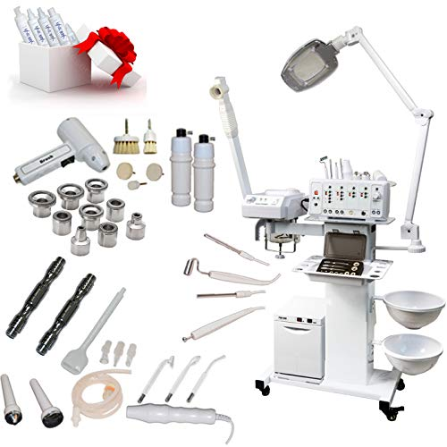 13-in-1 Elite Series Multifunction Diamond Microdermabrasion Facial Machine Salon Spa Beauty Equipment (No Bed)