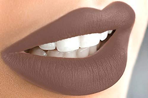 Liquid Matte Lipstick Long Lasting Highly Pigmented Lip Gloss Cruelty-Free & Paraben Free by Mynena - Nina