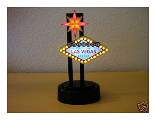 BRAND NEW WELCOME TO FABULOUS LAS VEGAS LIGHTED LED for sale  Delivered anywhere in USA