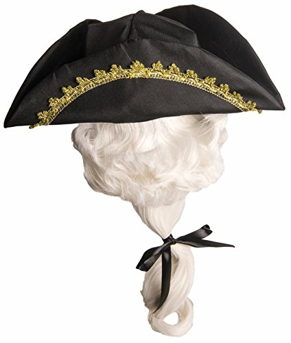 Kids Colonial Hat with Wig