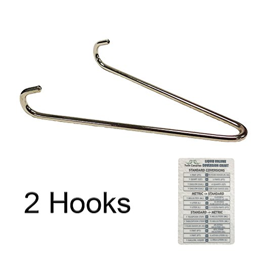 Hanger Reflector (ALL REFLECTOR V SHAPED HANGING HOOKS + Twin Canaries Chart - 2 HOOKS)