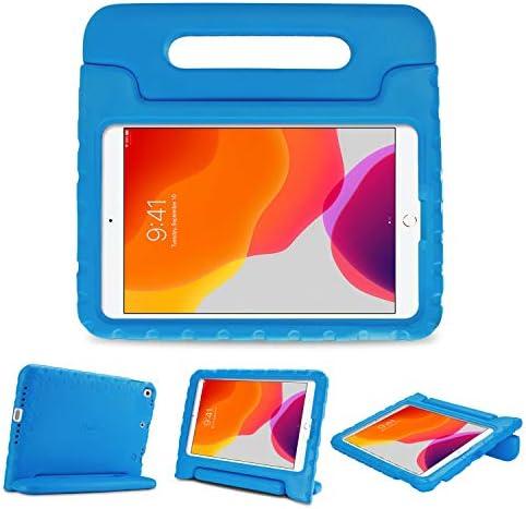 [해외]ProCase 아동용 케이스 아이패드 7세대 10.2인치 2019  아이패드 에어 10.5인치 (3세대)  아이패드 프로 10.5인치 충격방지 컨버터블 핸들 스탠드 커버 가벼운 아이패드 친화적인 케이스 10.2인치에어 3 / ProCase Kids Case for iPad 7th Gen 10.2 ...